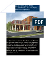 El Centro Cultural Del Arte Tradicional Peruano