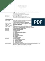 Annapolis Agenda as of 7.25.17