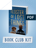 Book Club Kit for THE LUSTER OF LOST THINGS