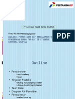 Analisis Petrofisika Brf Berdasarkan Data Log Pengeboran Sumur 'Kp-03' Di Struktur 'Kp' Cekungan Sumatera Selatan