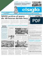 Edición Impresa El Siglo 26-07-2017