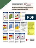 Calendario MAES 2016-2017