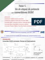 SEI1516 TP T1 Modelizacion de Etapas de Potencia DC DC