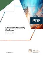 Advisian Sustainability Challenge