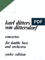 Dittersdorf - Concertos I and II(Piano)