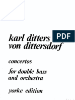 Dittersdorf - Concertos I and II(Piano)