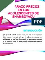 Embarazo Precoz en Los Adolescentes de Shamboyacu