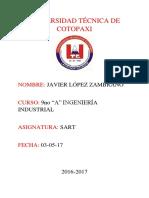 Historia de Un Sistema de Gestion de Seguridad y Salud Ocupacional. Javier Lopez