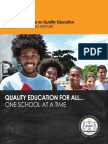 Quality Education For All