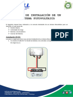 Manual de Instalación Panel Fotovoltaico