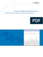 DNA Sequencing by Capillary Electrophoresis Chemistry Guide