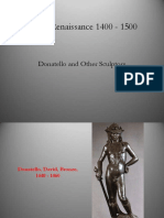 Itally_1400-1500_Donatello and Other Sculptors