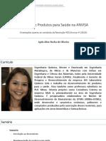 Registro de Produtos para Saúde na ANVISA