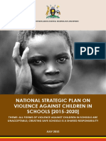 Uganda National Strategy and Action Plan on Violence against children in school VACiS