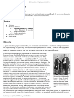 A História Da Química Analítica