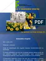 Aula 07 Sistemática e Taxonomia Vegetal[1]
