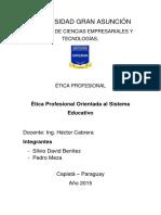 Ética Profesional - Trabajo Práctico