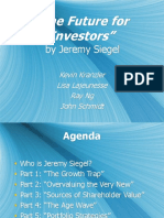 Jeremy Siegel - The Future for Investors