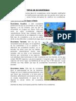TIPOS DE ECOSISTEMAS, Historia de la Polvora, El Papel, La Brujula, Las Armas de Fuego.docx
