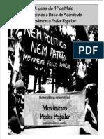 Cartilha 1 de Maio MPP