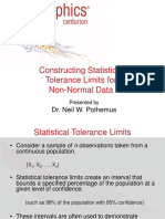 Nonnormal Tolerance Limits