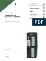 G120 CU230P2 Cmpct Op Instr 0117 Es-ES