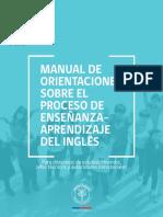 Manual de Orientaciones 2017 para la enseñanza de ingles