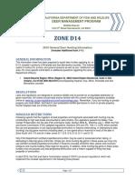 D14 Zone Hunt Info