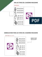 Simbolos Cuadernos Reiki