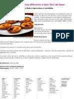 ***Creme catalana é delícia diferente e bem fácil de fazer - Receitas e Dietas - R7