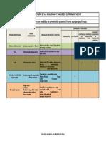 Formato Matriz de Jerarquización Con Medidas de Prevención y Control Frente a Un PeligroRiesgo