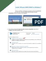 Instructivo 5. Configuracion Acceso a VPN en Windows 7