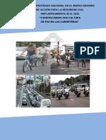 Plan Nacional Del Decenio de Acción Para La Seguridad Vial 2015- 2020 (Reelanzamiento 1)