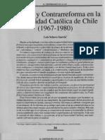 Reforma y Contrareforma en La UC