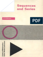 J. a Green Sequences and Series (Library of Math(BookSee.org)