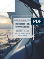 Plaquette Sponsoring IESEG VOILE CCE49 2017