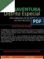 PRESENTACION Ley Distrito de Buenaventura 2013