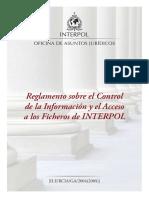 Interpol - Reglamento Control Información