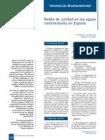 392-152 Redes de Calidad en Las Aguas Continentales en España