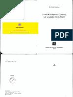 Comportamiento Criminal Un Analisis Psicologico Feldman m Philip