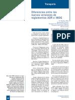 393-080 Diferencias Entre Las Nuevas Versiones de Reglamentos ADR e IMDG