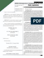 Decreto 244-2003 Ley Sobre Justicia Constitucional