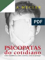 Psicopatas Do Cotidiano - Katia Mecler