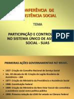 Controle Social - SUAS