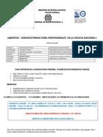 ¡ABIERTAS   CONVOCATORIAS PARA PROFESIONALES  EN LA POLICIA NACIONAL ¡