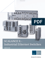Folleto Industrial Ethernet Switches Spanish