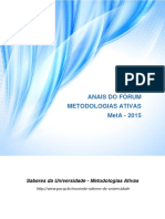 Anais Forum Metodologias Ativas 2015