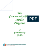Community Wise Audit Guide