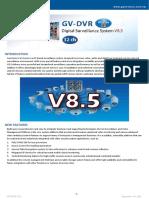 geovision software datasheet