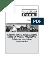 Jurisprudencia Fundamental Sobre Prision Preventiva